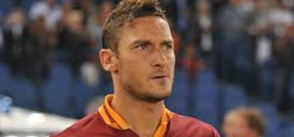 Il capitano della Roma, Francesco Totti