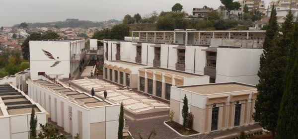 Il cimitero di Colle Madonna di Pescara