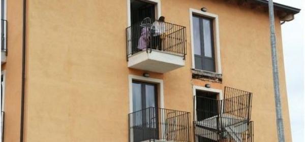 Balconi sequestrati
