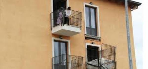 Il balcone crollato a Cese di Preturo