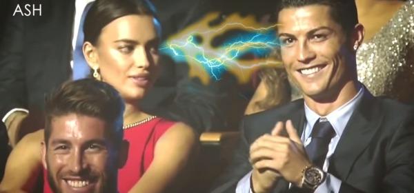 Cristiano Ronaldo ed Irina Shayk