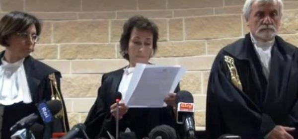 Il collegio giudicante della sentenza d'appello del processo Grandi Rischi