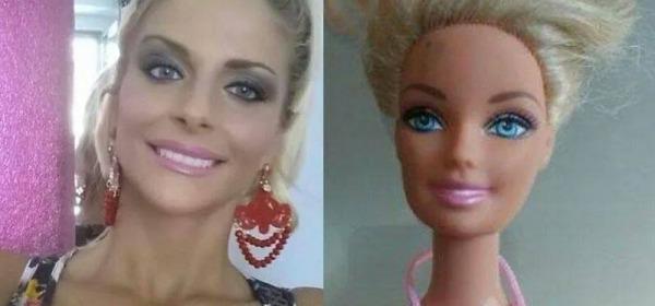 Francesca Cipriani e Barbie