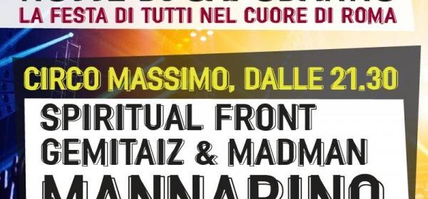 Capodanno 2014, Circo Massimo
