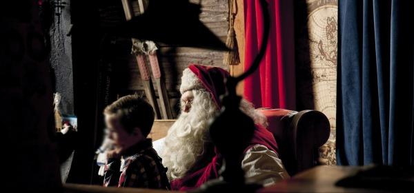 Incontrare Babbo Natale