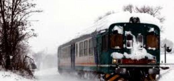 ferrovia neve