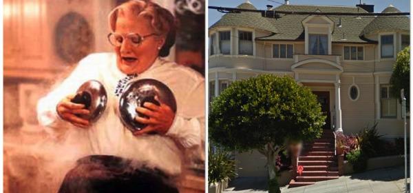 A fuoco la casa di 'Mrs Doubtfire' a San Francisco