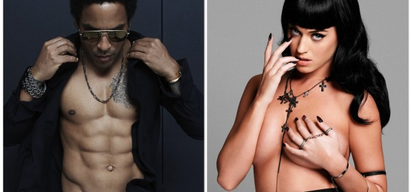 Lenny Kravitz e Katy Perry