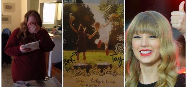 Taylor Swift paga debito college a fan