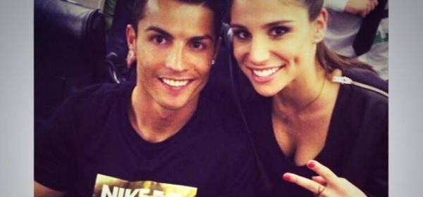 Cristiano Ronaldo e Lucia Villalon