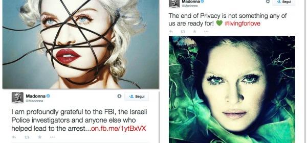 Madonna Su Twitter