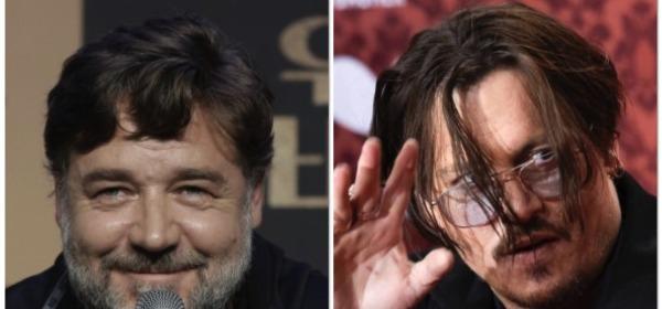 Russel Crowe e Johnny Depp