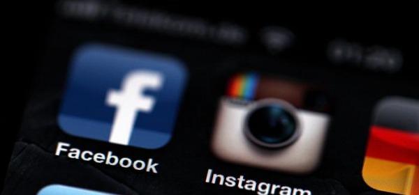 Icone Facebook ed Instagram