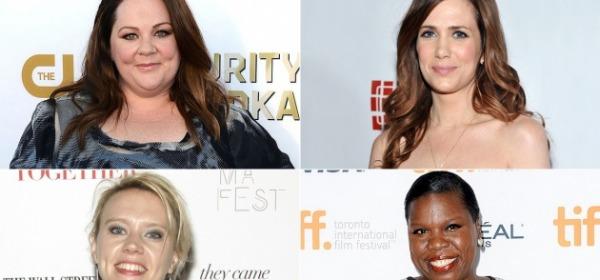 Melissa McCarthy, Kristen Wiig, Kate McKinnon e Leslie Jones
