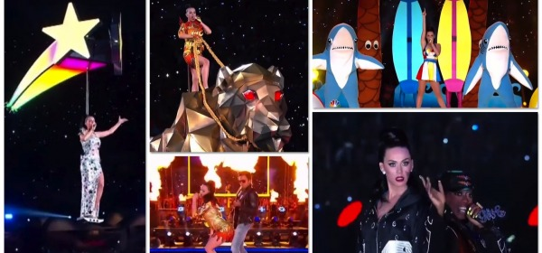 Katy Perry show - Super Bowl 2015