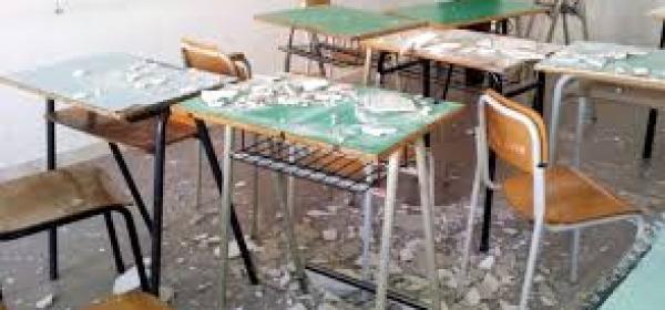 crollo calcinacci- scuola