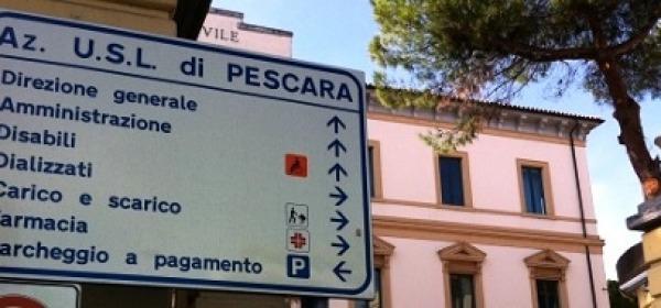 La sede delal Asl di Pescara