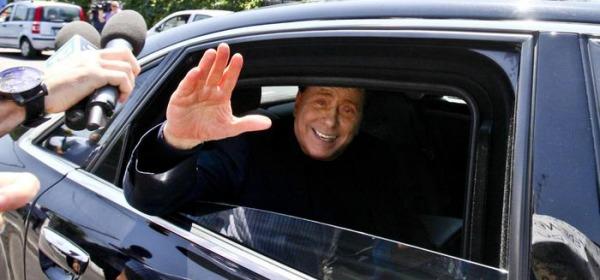 Foto Ansa-Berlusconi