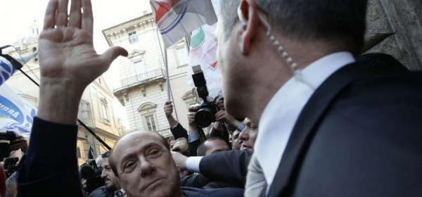 Berlusconi assolto, festa a Palazzo Grazioli