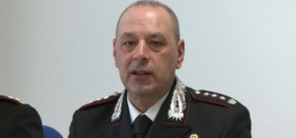 Il colonnello Cc Savino Guarino