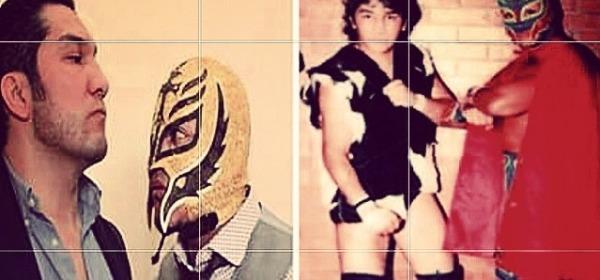 Rey Mysterio e Perro Aguayo