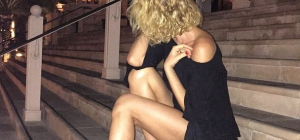 Alessia Marcuzzi nude look