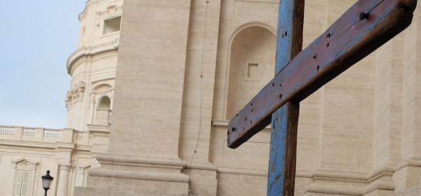 Papa Francesco e la Croce di Lampedusa