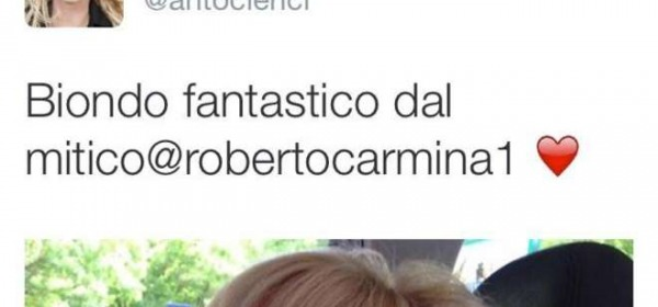 Antonella Clerici Nuovo Look