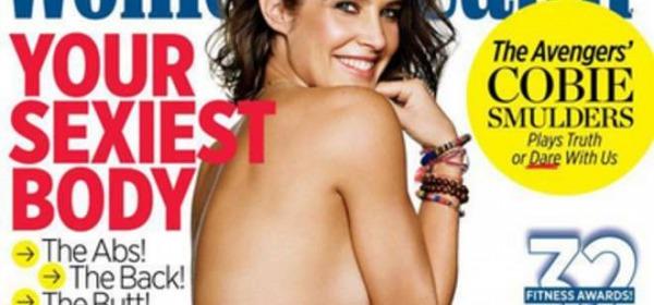 Cobie Smulders in topless su Women's Health