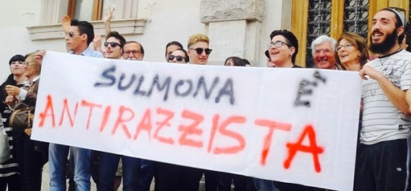 Manifestazione Sulmona-foto ansa