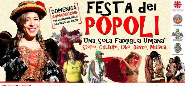 Festa dei popoli 2015 - Chieti