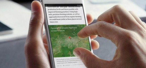 "Facebook lancia ""Instant Articles"""