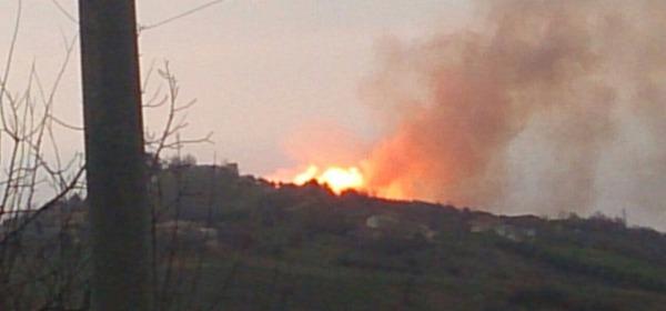 Esplosione metanodotto Mutignano