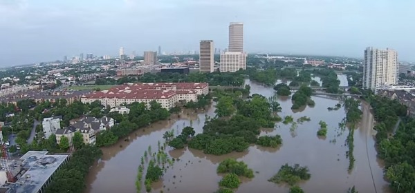 Texas-Houston alluvione