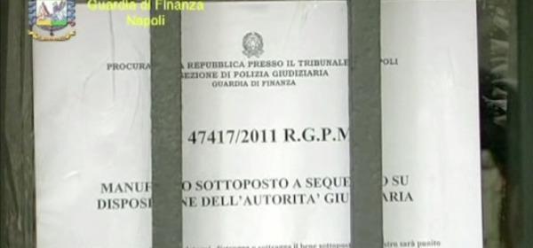 Gdf Napoli - truffa al cimitero