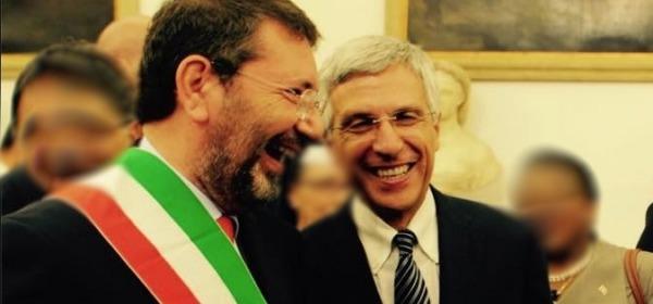 Marino e Nieri - foto da facebook Luigi Nieri