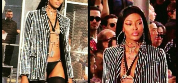 Naomi Campbell Givenchy su instagram