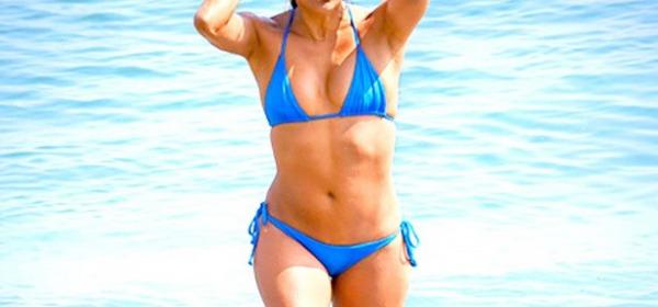 Eva Longoria in sexy bikini a Marbella su instagram