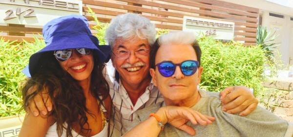 Raffaella Fico, Antonio Razzi e Cristiano Malgioglio