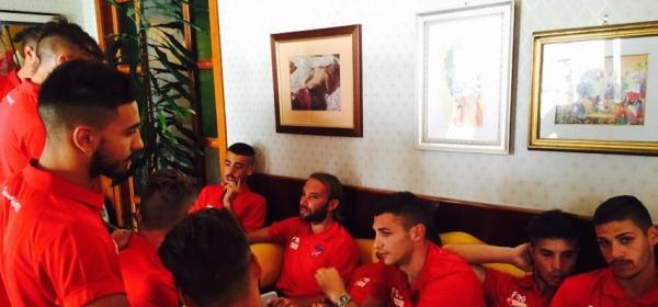 Ritiro del Teramo Calcio a Rivisondoli - foto da facebook