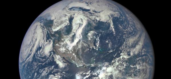 La Terra dallo spazio NASA