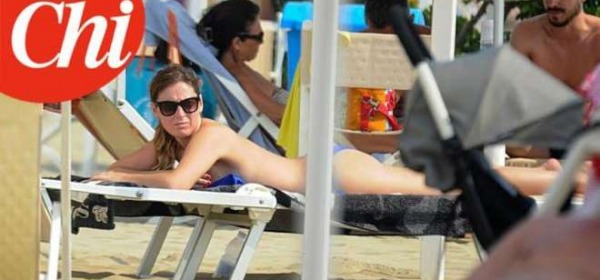 Maria Elena Boschi topless