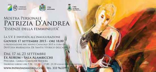 mostra Patrizia D'Andrea