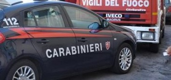 Carabinieri-vigili del fuoco