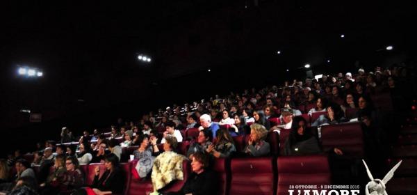 Proiezione al cinema Movieplex dell'Aquila
