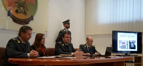"""Gdf Ancona, Operazione """"Happy Meal"""""""