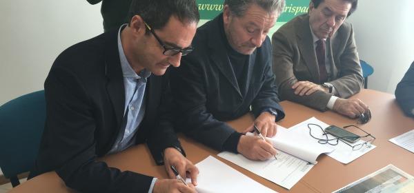 Firma Convenzione Fondazione Carispaq - A.S.D. Circolo Tennis