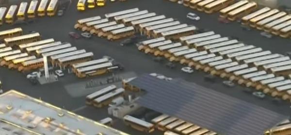 scuole chiuse a Los Angeles