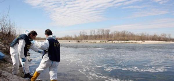 rilevamenti acque fiume