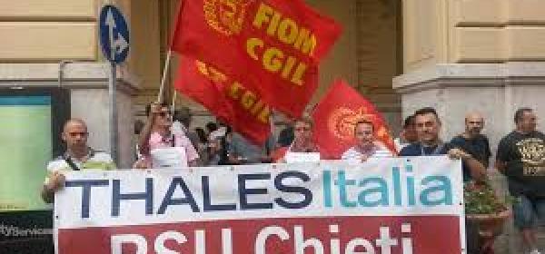 Manifestazione Thales